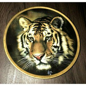 Collector Plate By Lenox 1993 Tiger Big Cats Of